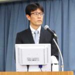 再生医療学会で発表する大鶴任彦医師